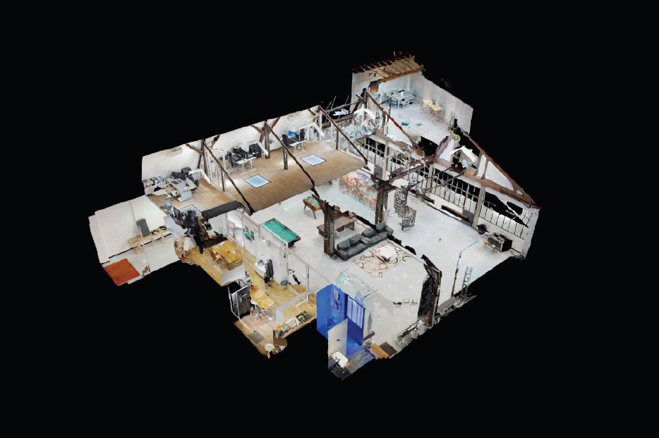 Visite 3D interactive - agence web Île-de-France